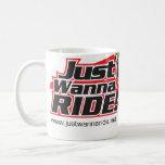 JustWannaRide Classic Logo Mug