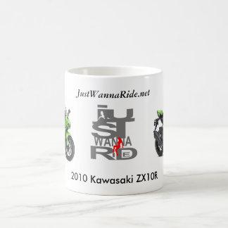 JustWannaRide my 2010 Kawasaki ZX10R mug