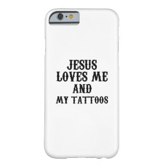 Jusus Love tattoo Funny Gift Barely There iPhone 6 Case