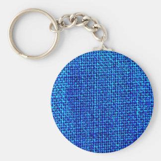 Jute Pattern Keychain