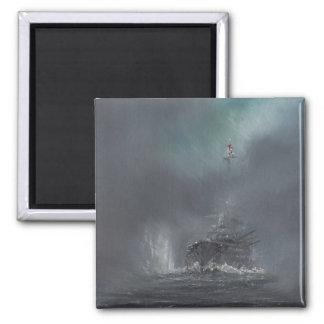Jutland 1916 2014 2 2 inch square magnet