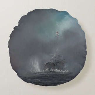 Jutland 1916 2014 2 round pillow