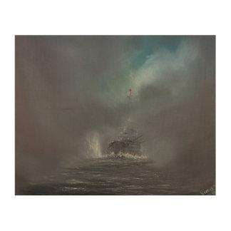 Jutland 1916 2014 2 wood print