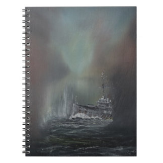 Jutland 1916 2014 spiral notebook
