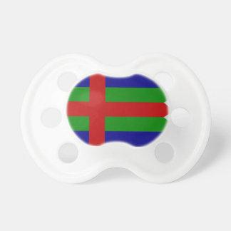 Jutland (Denmark) Flag Baby Pacifiers