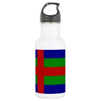 Jutland (Denmark) Flag Stainless Steel Water Bottle