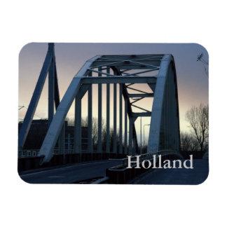 Jutphaas Bridge, Utrecht Vinyl Magnets