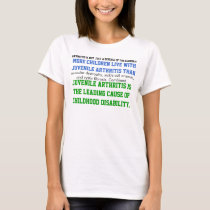 Juvenile Arthritis Awareness T-Shirt