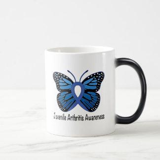 Juvenile Arthritis Butterfly Ribbon Magic Mug