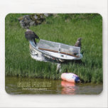 Juvenile Bald Eagles on a Skiff Mouse Pad