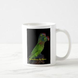 Juvenile Coxen's Fig Parrots mug
