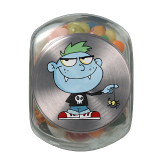 Juvenile Delinquent Vampire School Dropout Jelly Belly Candy Jars
