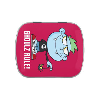 Juvenile Delinquent Vampire School Dropout Jelly Belly Tin