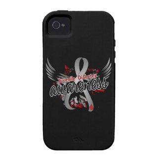 Juvenile Diabetes Awareness 16 iPhone 4/4S Covers