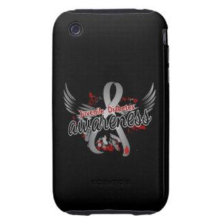 Juvenile Diabetes Awareness 16 iPhone 3 Tough Cases