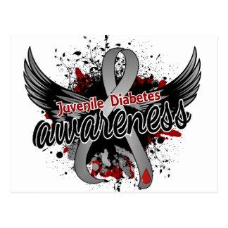 Juvenile Diabetes Awareness 16 Postcard