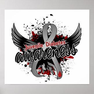 Juvenile Diabetes Awareness 16 Poster