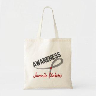 Juvenile Diabetes Awareness 3 Tote Bag
