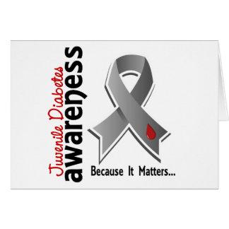Juvenile Diabetes Awareness 5 Card