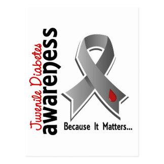 Juvenile Diabetes Awareness 5 Postcard