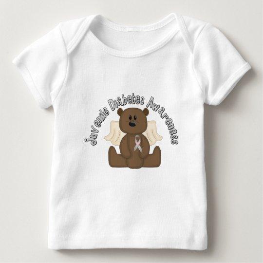 Juvenile Diabetes Awareness Bear Baby T-Shirt