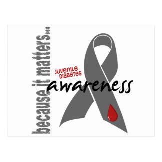 Juvenile Diabetes Awareness Postcard