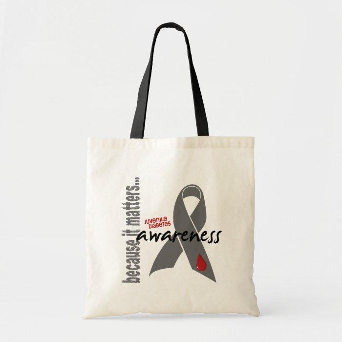 Juvenile Diabetes Awareness Tote Bag