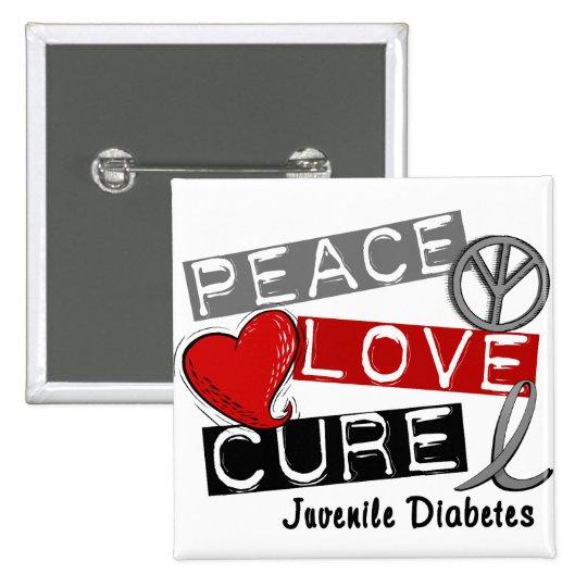 JUVENILE DIABETES BUTTON