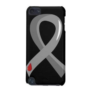 Juvenile Diabetes Grey Ribbon 3 iPod Touch (5th Generation) Case
