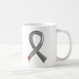 Juvenile Diabetes Grey Ribbon 3 Coffee Mug