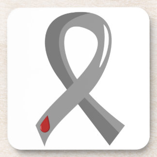 Juvenile Diabetes Grey Ribbon 3 Coasters