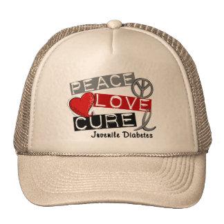 JUVENILE DIABETES MESH HATS
