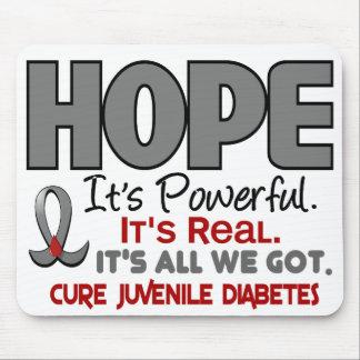 Juvenile Diabetes HOPE 1 Mouse Mat