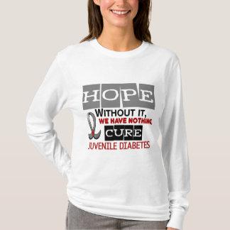 Juvenile Diabetes HOPE 2 T-Shirt