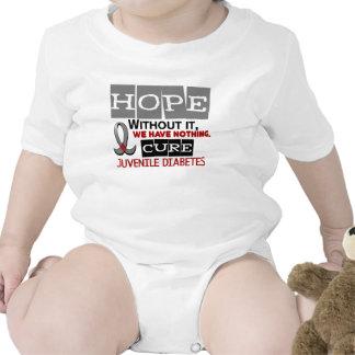Juvenile Diabetes HOPE 2 Baby Bodysuits