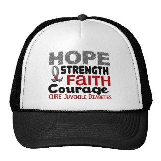 Juvenile Diabetes HOPE 3 Hat