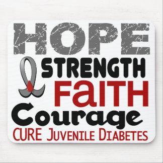 Juvenile Diabetes HOPE 3 Mouse Mats