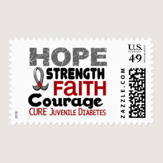 Juvenile Diabetes HOPE 3 Postage