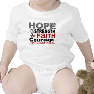 Juvenile Diabetes HOPE 3 Rompers