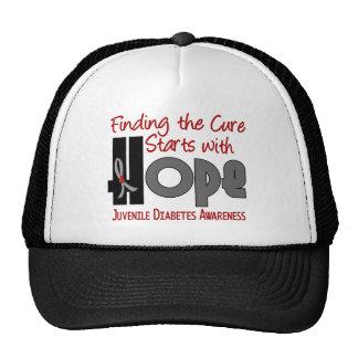Juvenile Diabetes HOPE 4 Mesh Hat