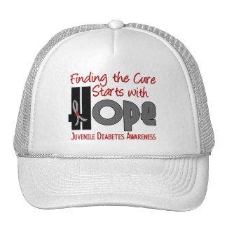 Juvenile Diabetes HOPE 4 Mesh Hats