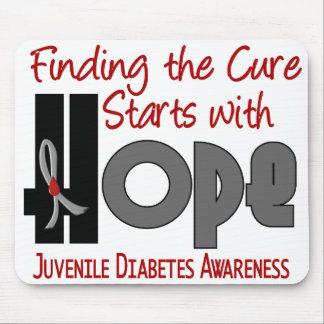 Juvenile Diabetes HOPE 4 Mouse Pad