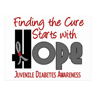 Juvenile Diabetes HOPE 4 Postcard