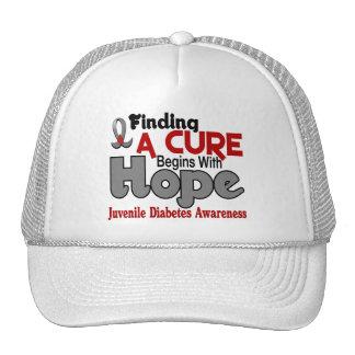 Juvenile Diabetes HOPE 5 Hat