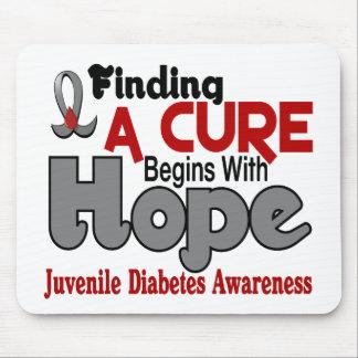 Juvenile Diabetes HOPE 5 Mouse Pad