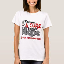 Juvenile Diabetes HOPE 5 T-Shirt