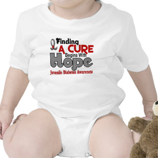 Juvenile Diabetes HOPE 5 Bodysuits