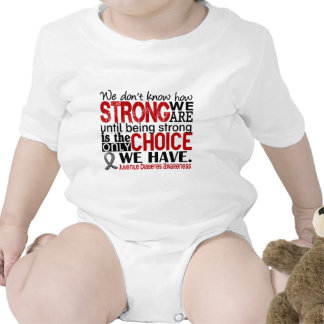 Juvenile Diabetes How Strong We Are T Shirts