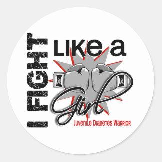 Juvenile diabetes ribbon stickers juvenile diabetes for Stickers juveniles