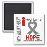 Juvenile Diabetes I Hold On To Hope Magnet